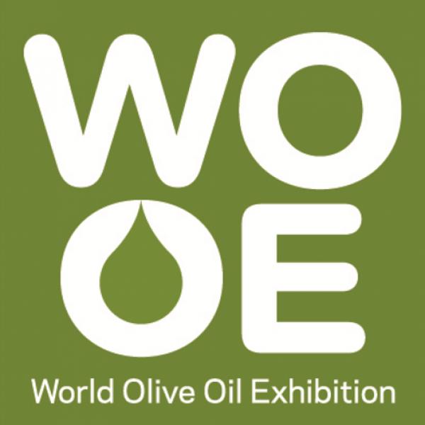 Logotipo de WOOE, World Oil Exbibition