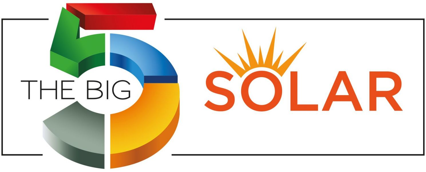 Logotipo de The Big 5 Solar